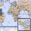 guatemala world map