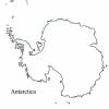 Antarctica balnk Maps