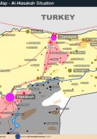 map of al hassakah