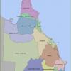 show map queensland