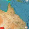 queensland satellite map