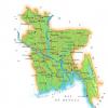 Map of Bangladesh Map Region
