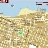 map of fortaleza