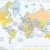 a4 world map printable free