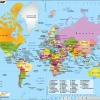 picture of the map of the world