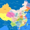 Map of China Map Region
