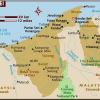 Map of Brunei Map Region