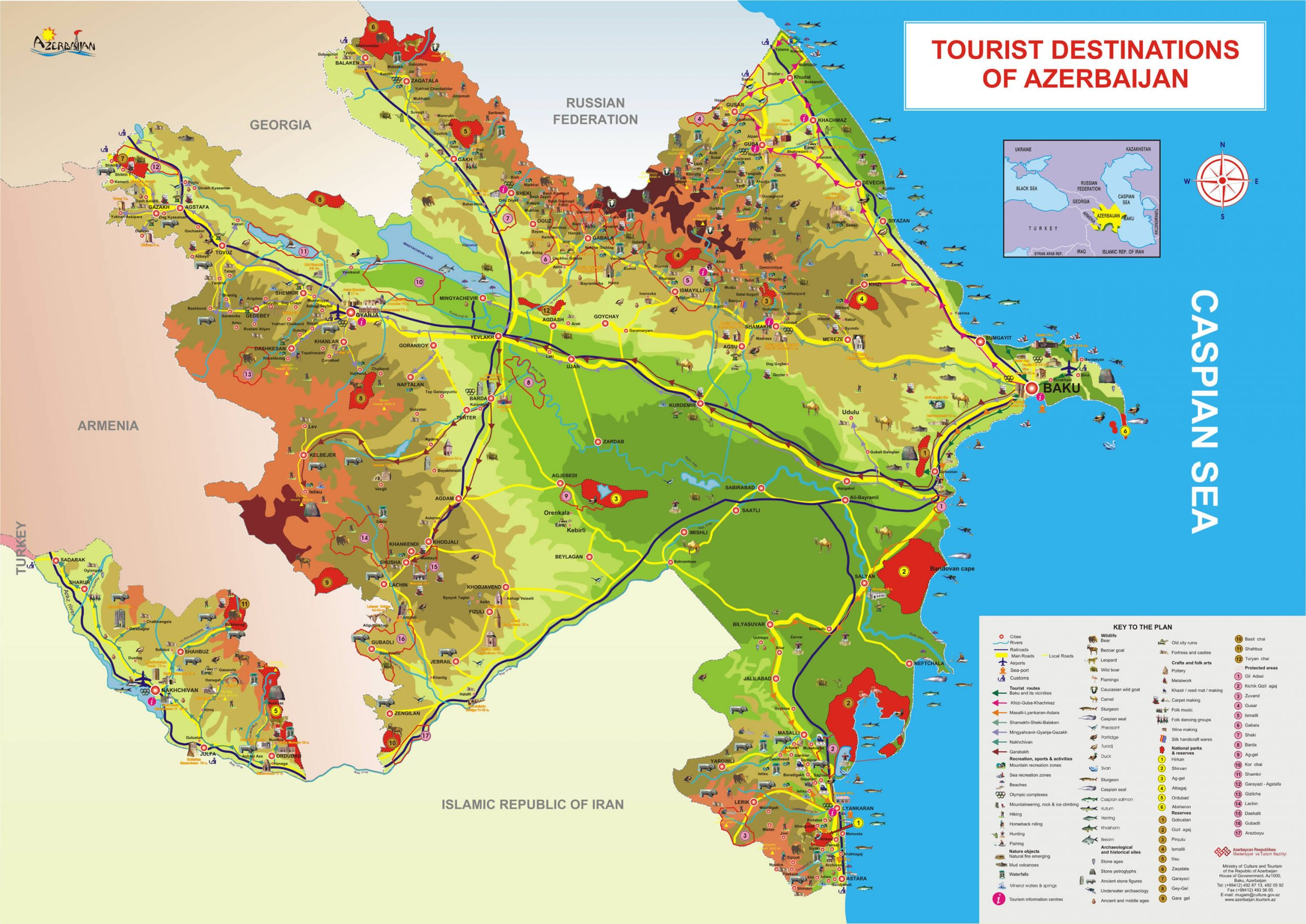 Picture of: Azerbaijan Map Asia Maps Map Pictures