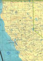 California Wall Map