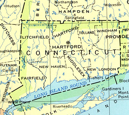 Map Of Connecticut America Maps Map Pictures - Connecticut in us map