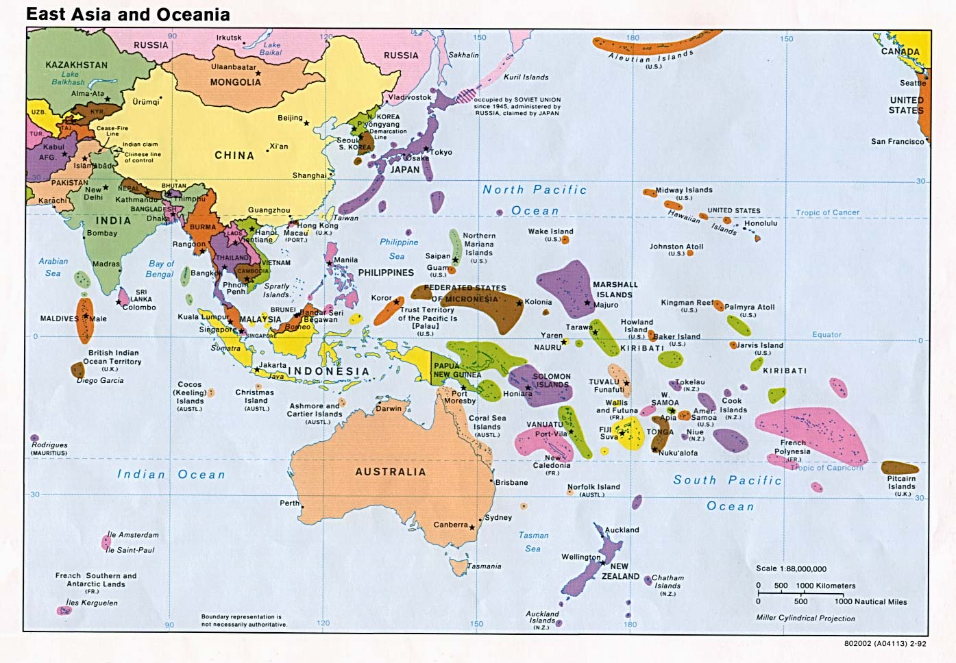 east asia maps Map Pictures