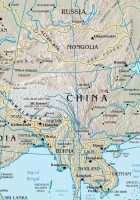 china map rivers