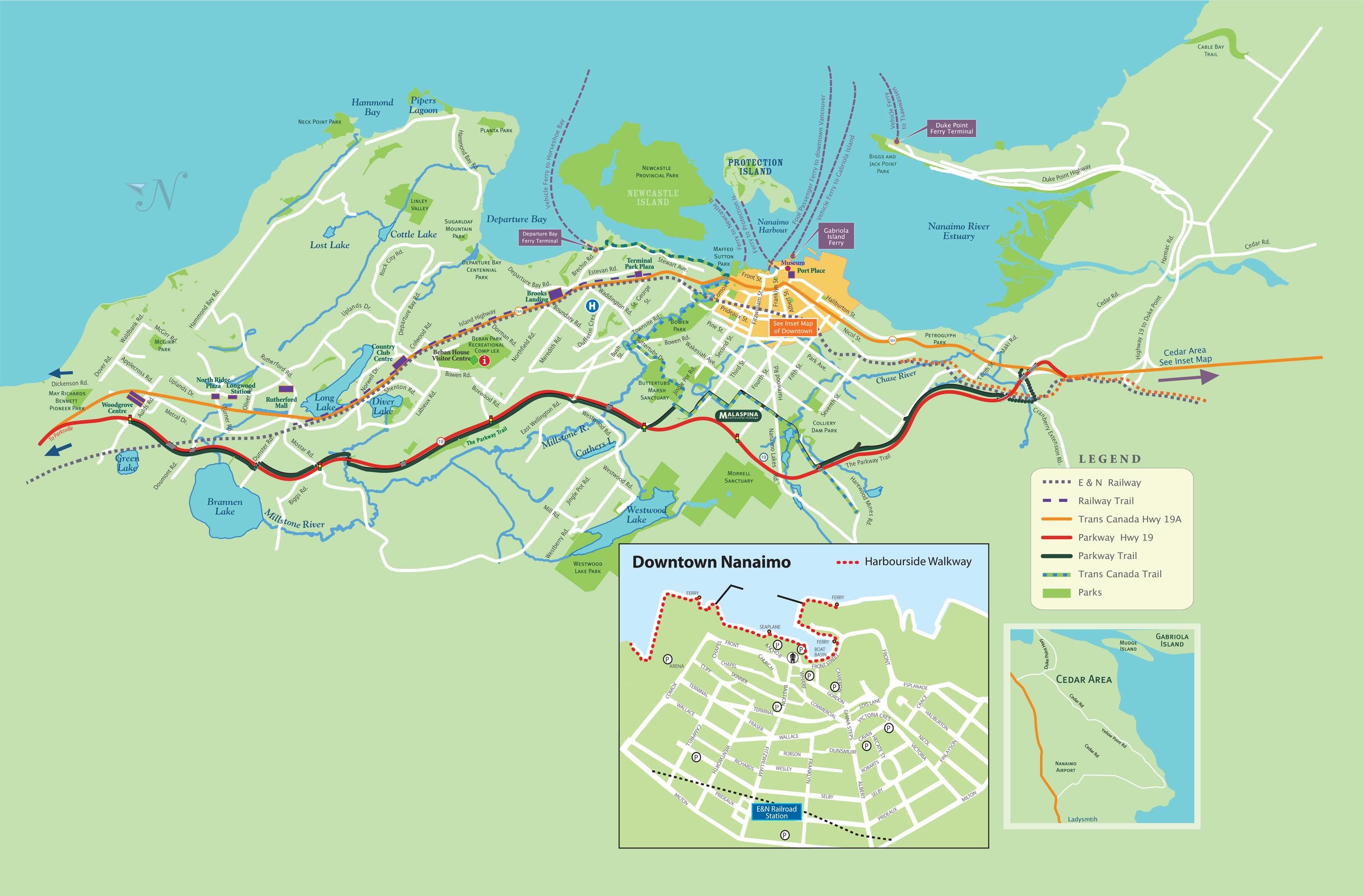 City Of Nanaimo Map Nanaimo City Map   Map Pictures City Of Nanaimo Map