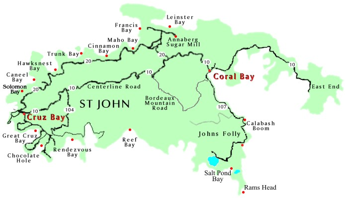 map of saint john Map Pictures