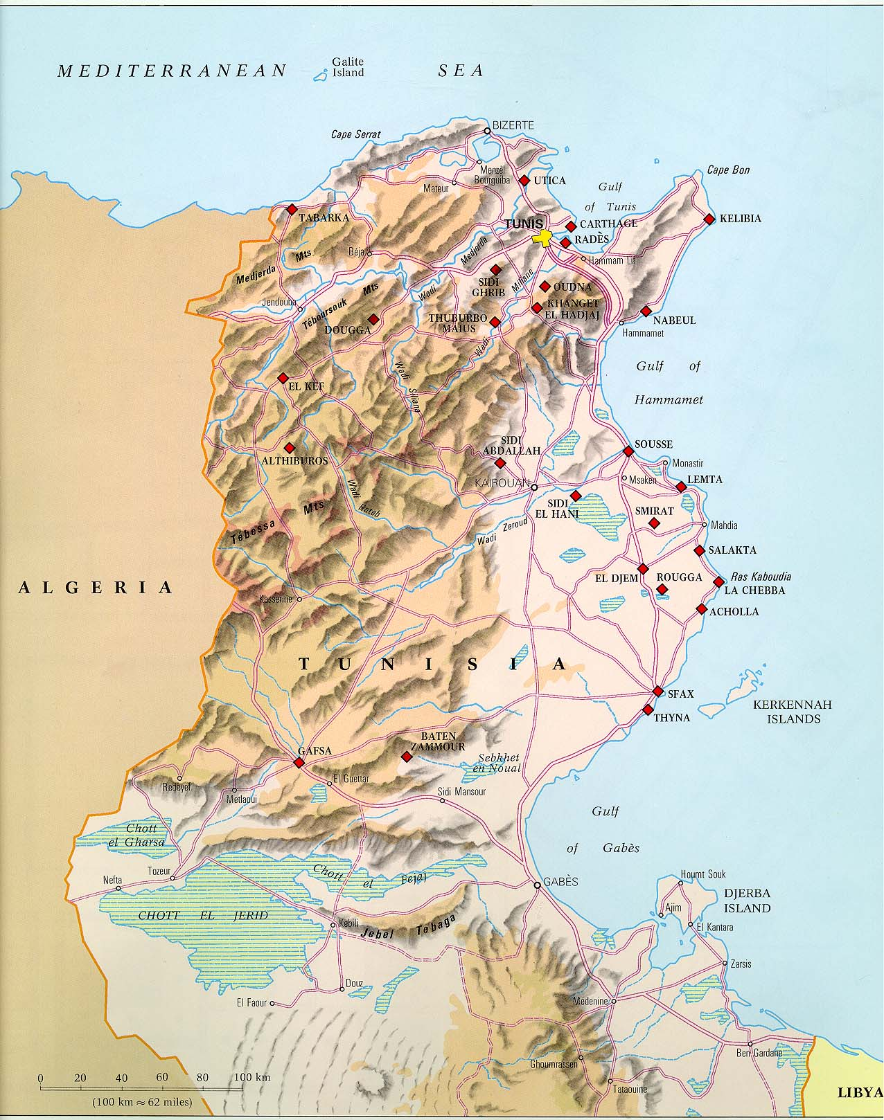 Akosombo Dam Map