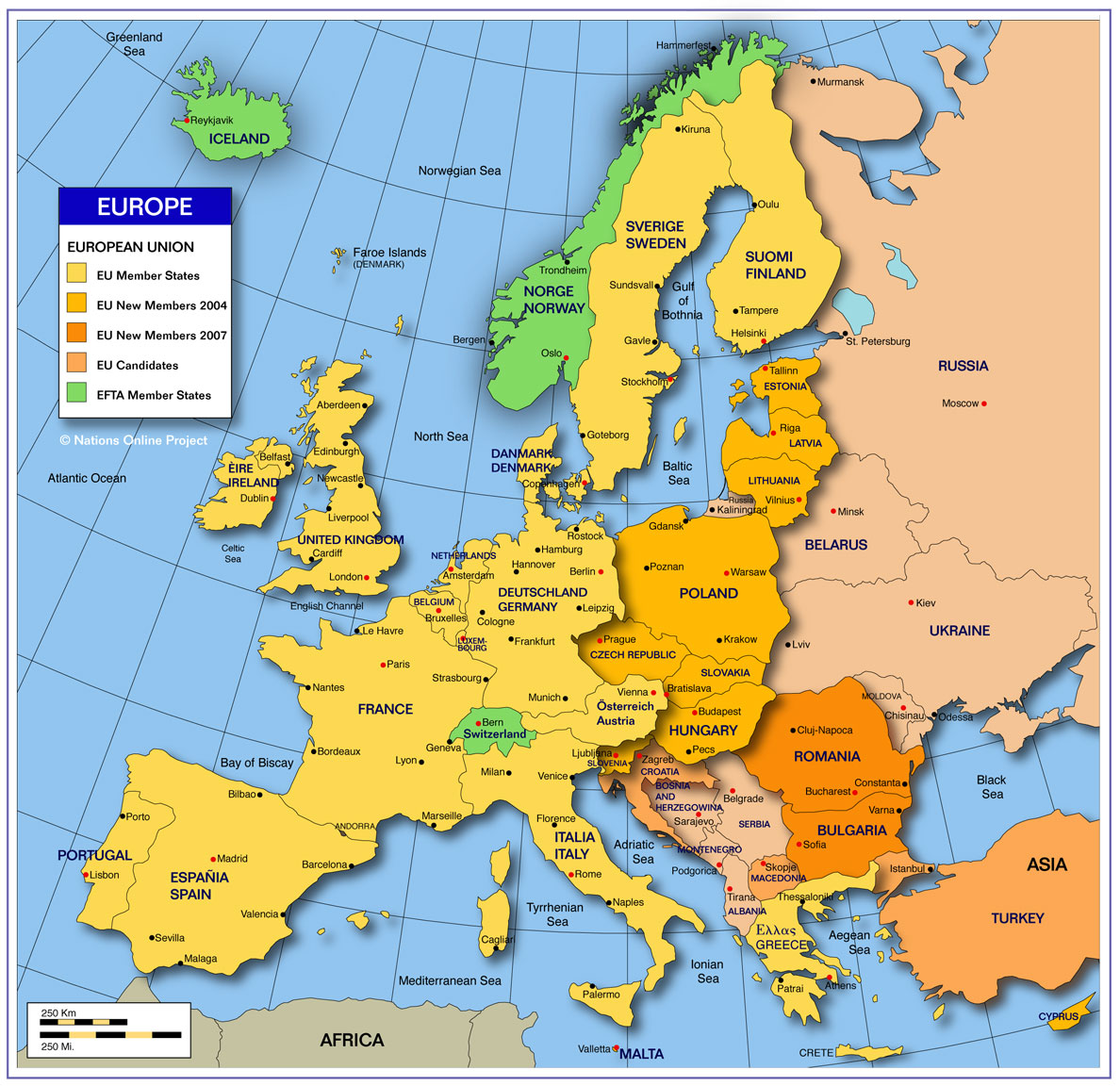 Map Of Europe West.Map Of Europe Europe Maps Map Pictures