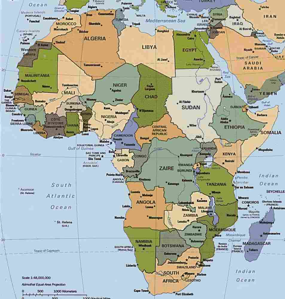 map of africa - Africa Maps - Map Pictures