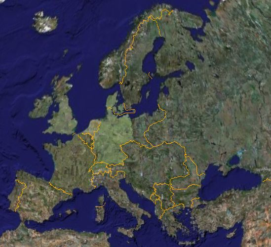 google earth europe Europe Maps Map Pictures