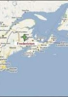 Map of Fredericton Map of Fredericton North Map of Fredericton
