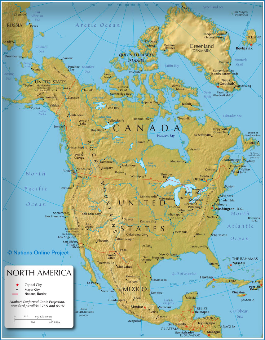 Cities Of America Map.America Maps With Cities America Maps Map Pictures