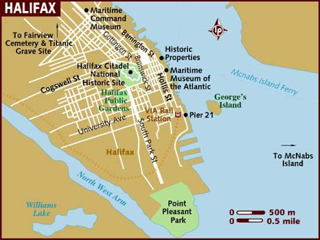 how to get from halifax to advocate harbour
