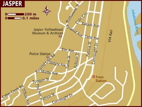map of jasper