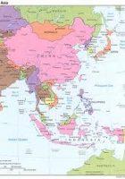 east asia maps