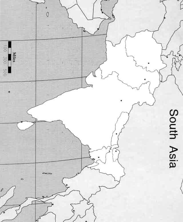 欧洲 亚洲的轮廓图 亚洲地图轮廓
