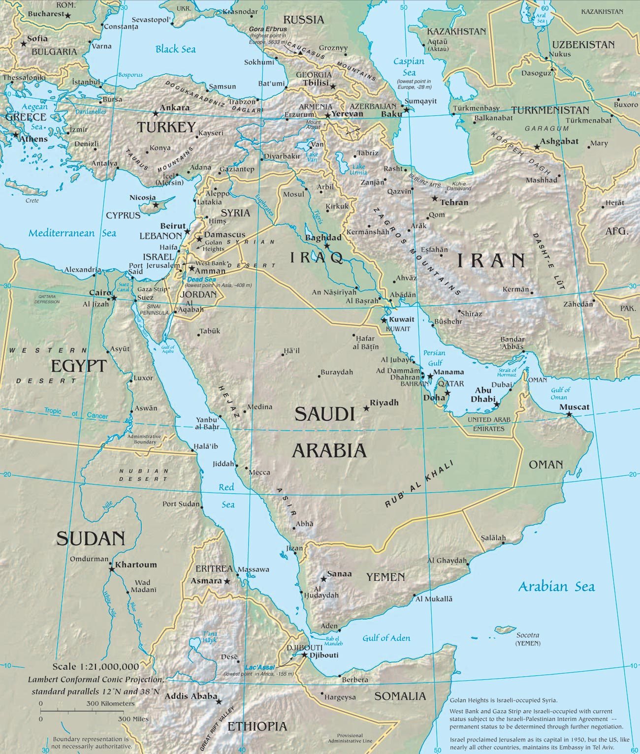 Picture of: Middle East Map Middle East Maps Map Pictures