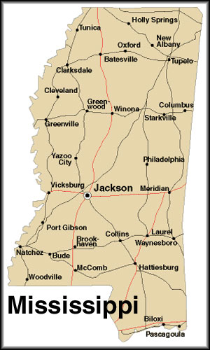 Map Of Mississippi America Maps Map Pictures