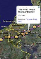 europe google map