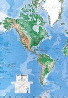 australia world maps