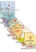 dist map california