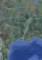 satellite map of alabama