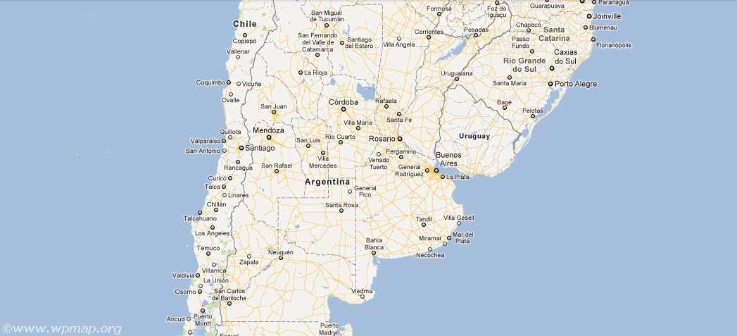 Satellite Map Of Argentina Satellite Images Map Pictures - Zapala argentina map