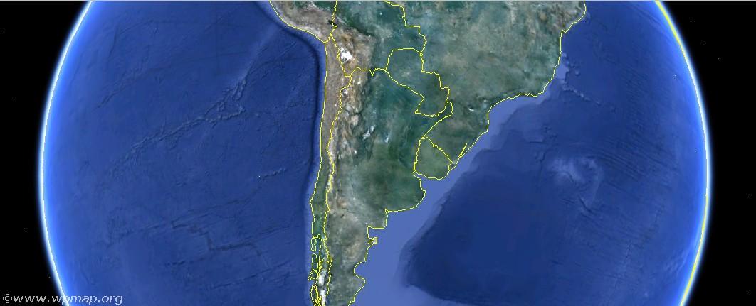 Satellite Map Of Argentina Satellite Images Map Pictures