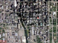satellite map of chicago3