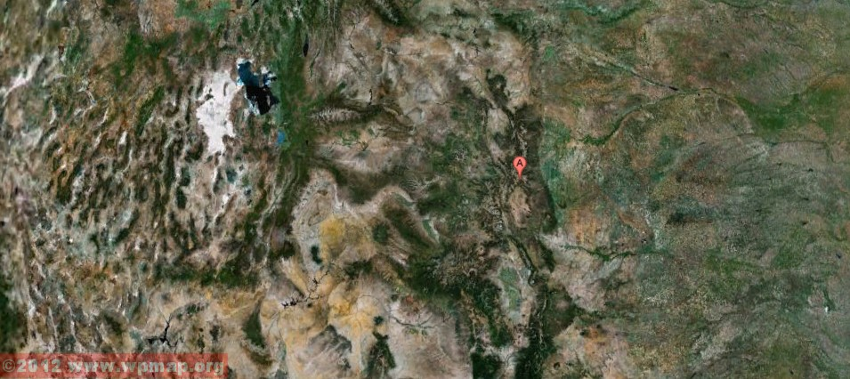 satellite map of colorado
