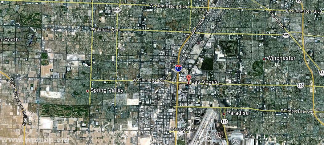 Satellite Map Of Las Vegas Satellite Images Map Pictures - Satellite map