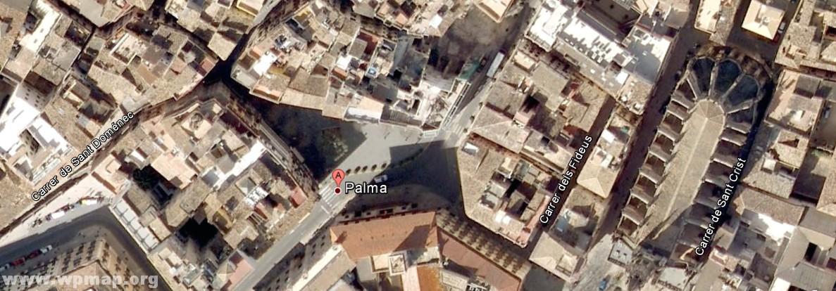 satellite map of palma