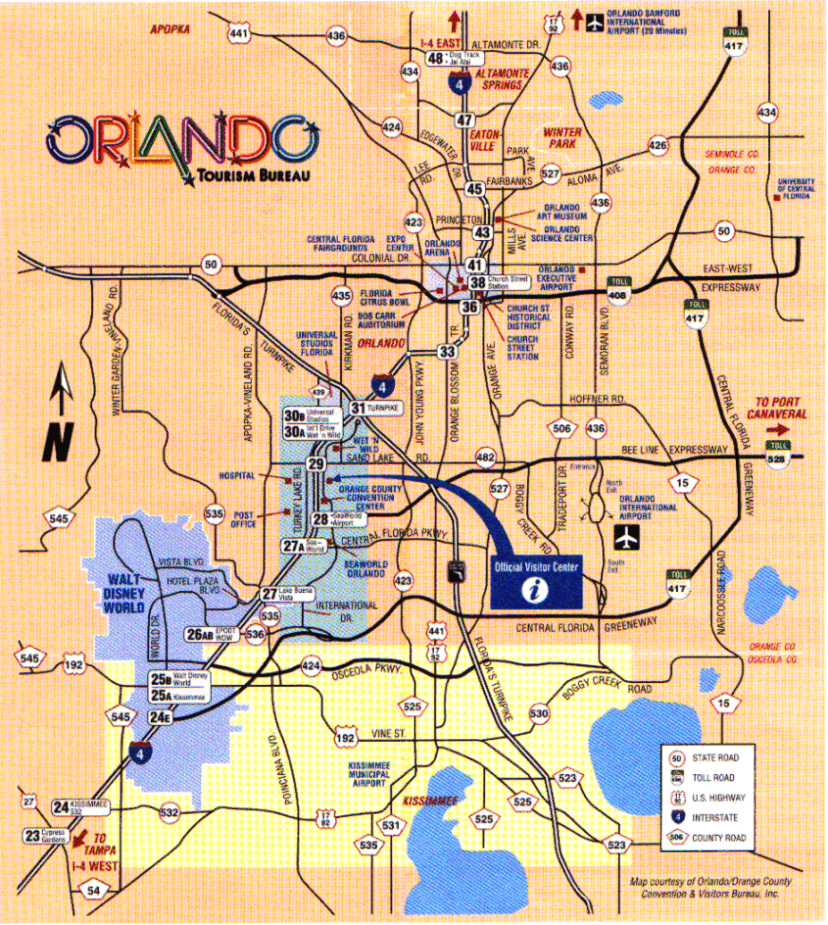 Orlando Metro Map.Map Of Orlando Airports City Maps