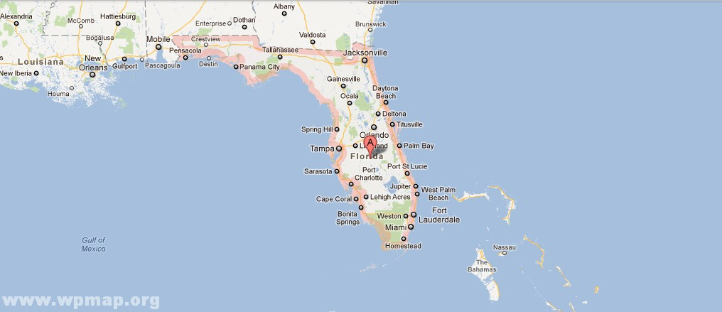 Satellite Map Of Florida Satellite Images Map Pictures - Satellite maps florida