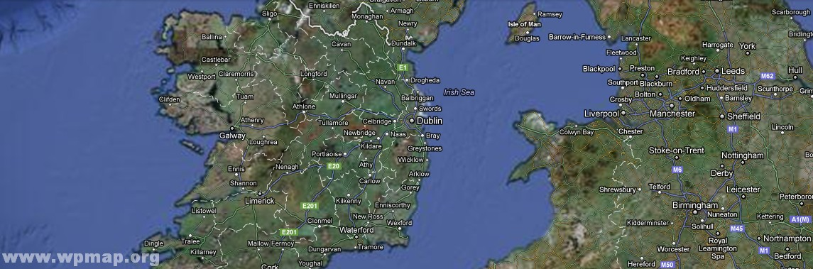 Satellite Map Of Ireland.Satellite Map Of Ireland3 Map Pictures