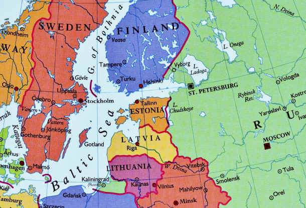 Estonia-Map - Map Pictures