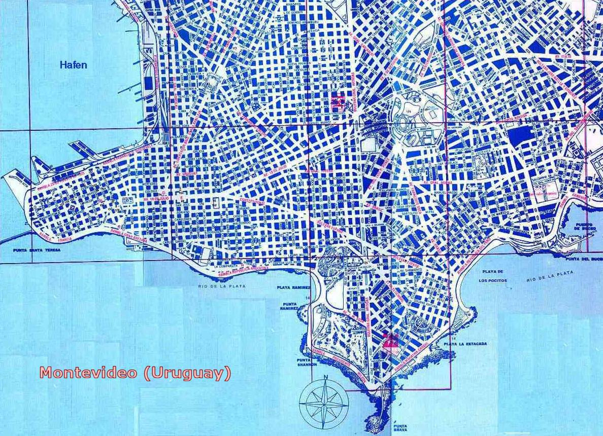 map of montevideo