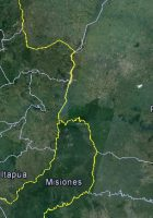 satellite map of parana