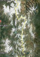 satellite map of santiago