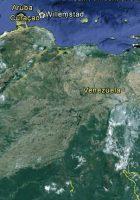 satellite map of venezuela