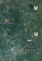 satellite map of minas gerais