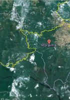 satellite map of roraima